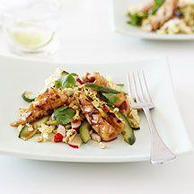Weight Watchers - 5 salades zonder sla - Couscous met gemengde gegrilde groenten 6pt - Citroencouscous met kip en kikkererwten 10pt - Pittige garnalencouscous 7pt - Tabbouleh 5pt - Bulgur medley 5pt
