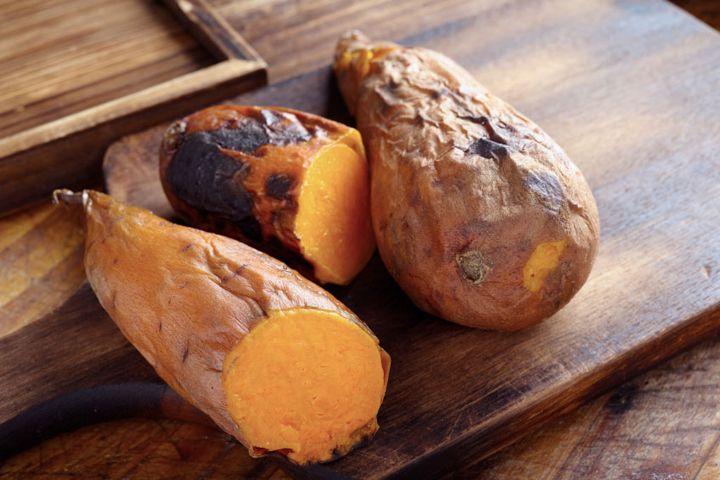 Protein Potato: Try this protein-packed snack in between breakfast and lunch.