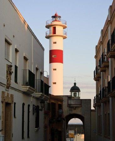 Rota Lights (old and new), Rota, Spain