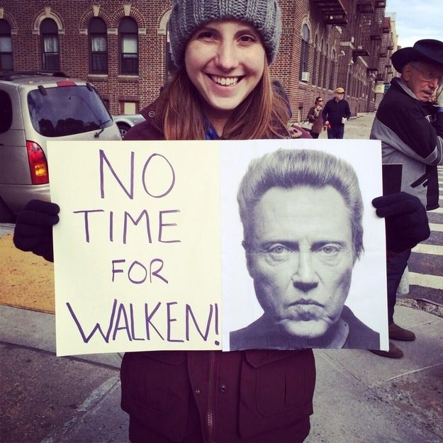 Solid pun. And advice /  The 35 Best Signs From The NYC Marathon (via BuzzFeed)
