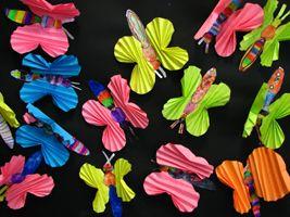exemple d un papillon: Bricolage D Animaux, Diy, Animal, Bricolages Animaux