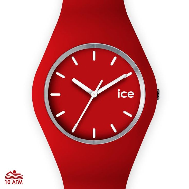 Ice Watch Slim in red - ideal accessory for Red Nose Day! 23rd August 2013