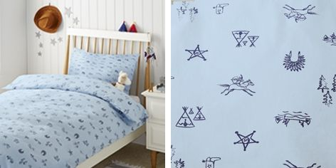 Buy Wild West Bed Linen - from The White Company