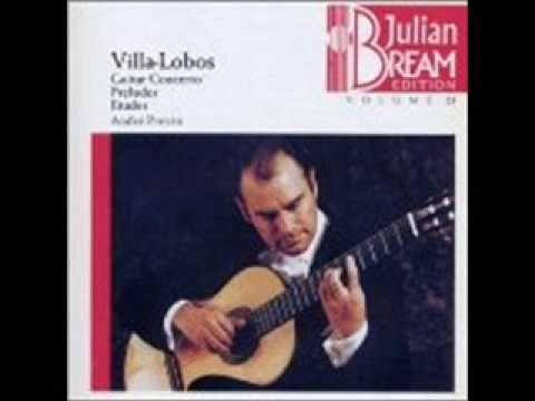 Villalobos - Prelude 1 (Julian Bream) - YouTube