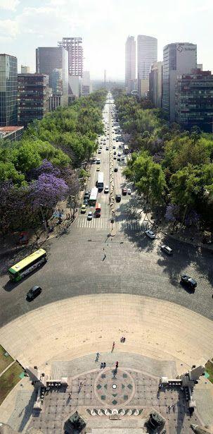 Paseo de la Reforma #México City DF QUETA L  Tour By Mexico - Google+