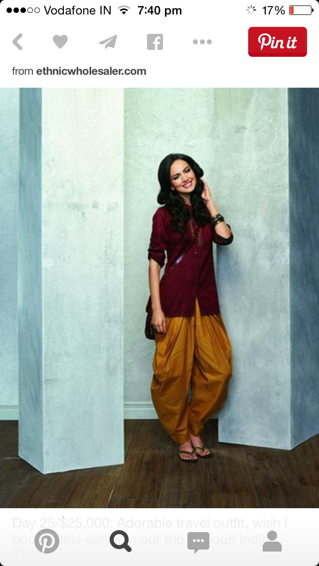 Casual indian look