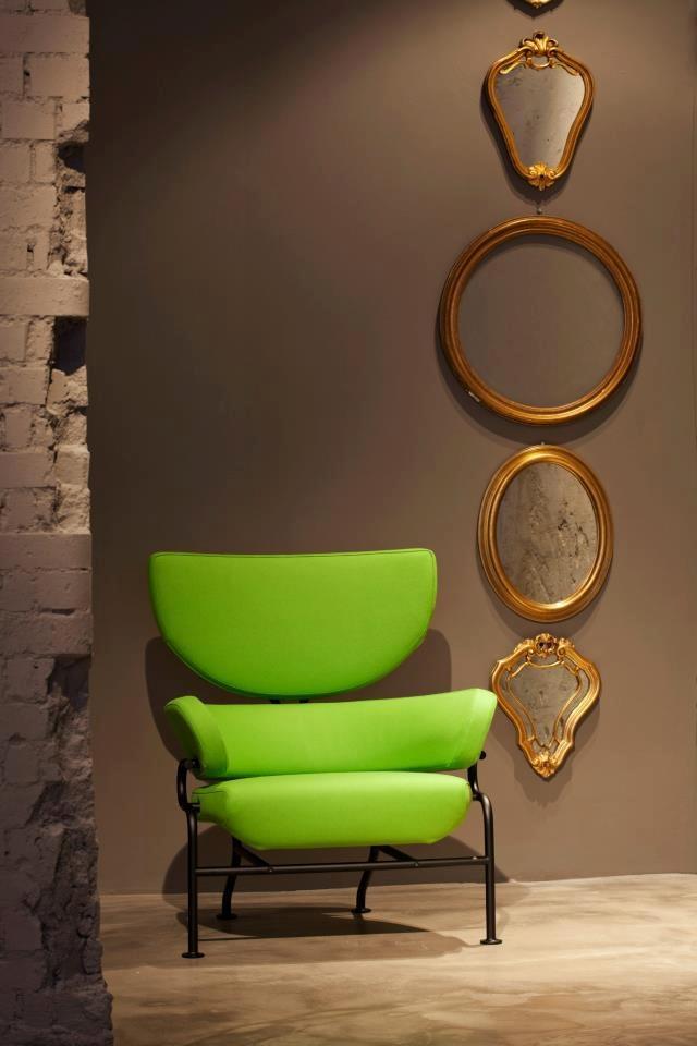 Cassina installation: Tre Pezzi chair by Franco Albini  www.facebook.com/carlosantoniodesigns #carlosantoniodesigns