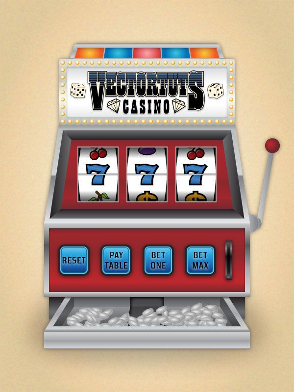 Create a Casino Slot Machine in Illustrator