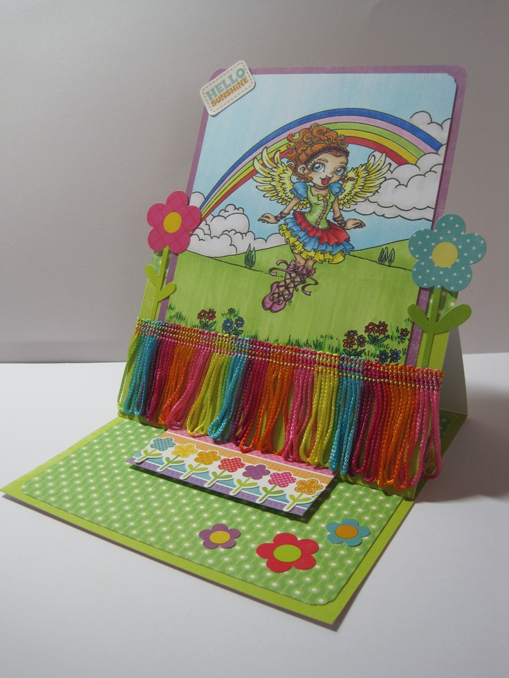 #Mayzy Art Rainbow Challenge winner by Trudie Howard