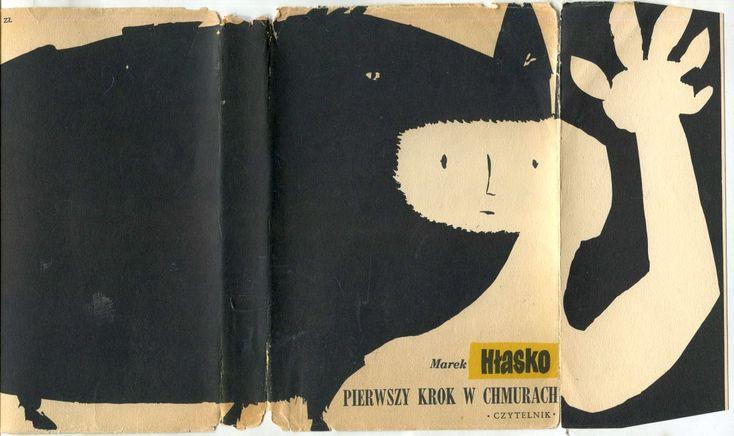 'Pierwszy krok w chmurach', Warszawa 1956, cover by Jan Młodożeniec.
