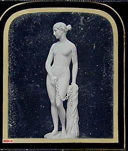 "Sculpture, ""The Greek Slave"" by Hiram Powers"