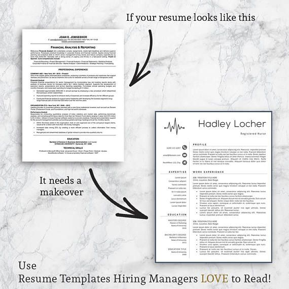 Nurse Resume Template, Nurse Resume, Professional Nurse Resume