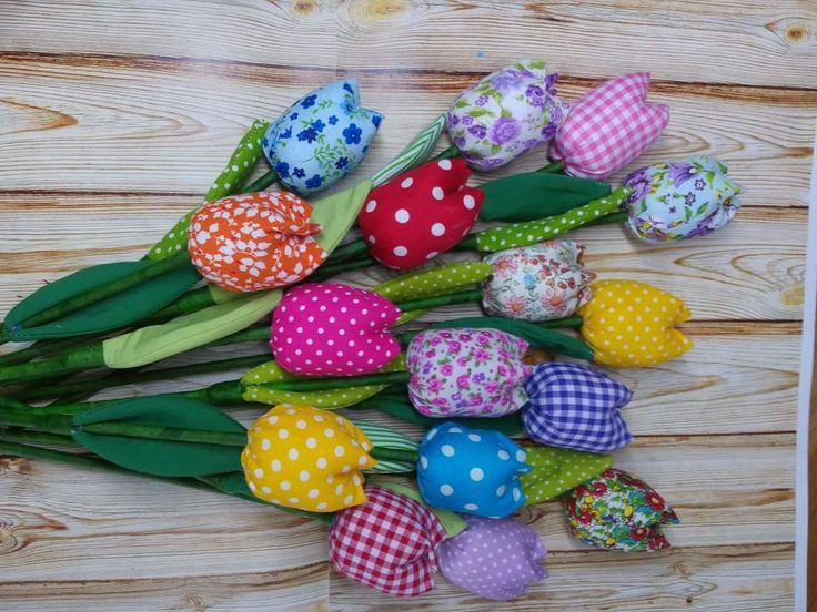 fabric tulip