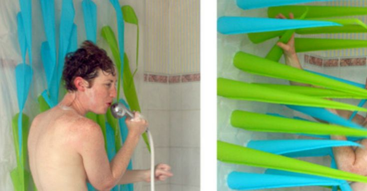 Are you holding everyone up with your epic shower songs? This is the perfect shower curtain for you.