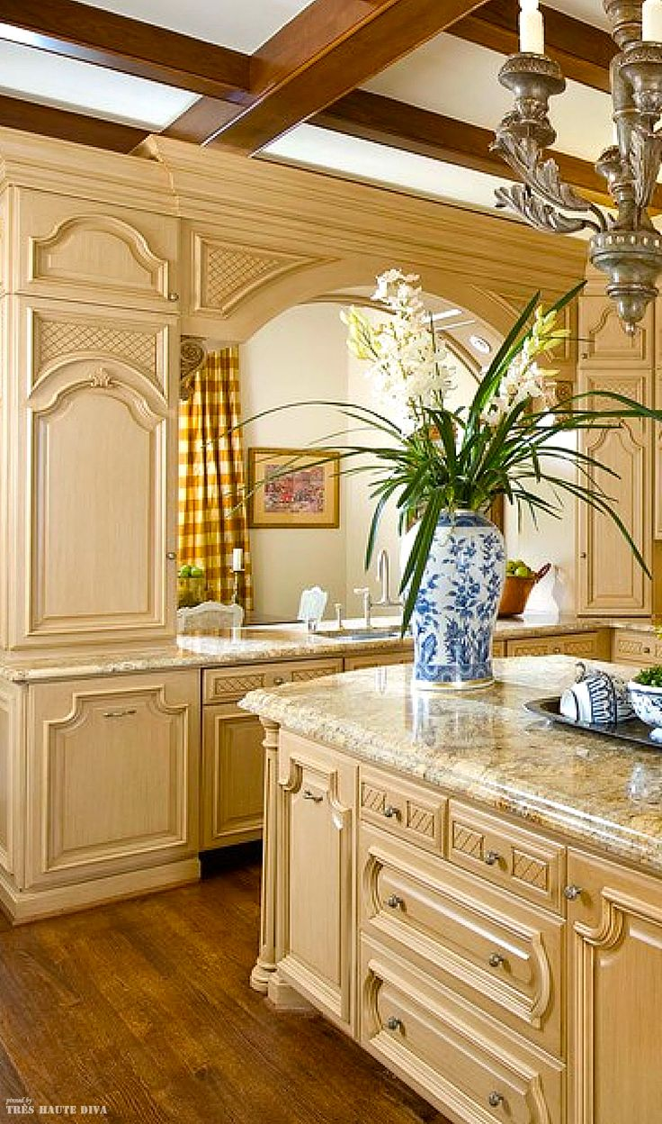 1371 best for the home kitchens images on pinterest for French country cottage kitchen ideas