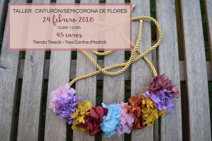 Aprende a hacer tu propio cinturón de flores preservadas que además podrás usar como corona frontal. Más info y reservas en info@myrusticevent.com.
