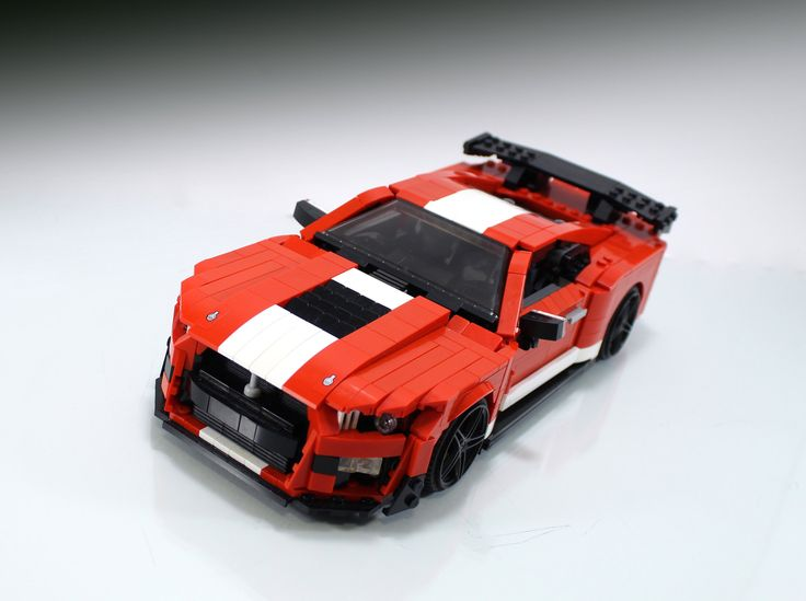 2020 Ford Mustang Shelby Gt500 Lego Wheels Lego Truck Ford Mustang Shelby Gt500