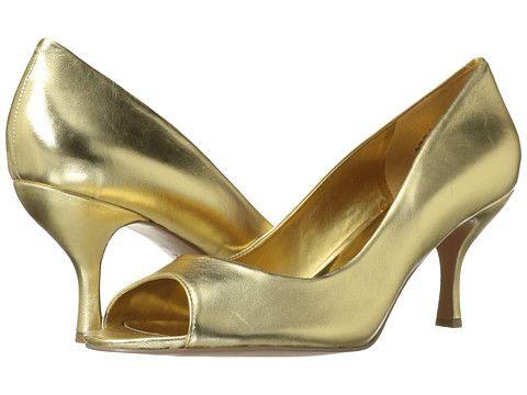 Nine West, $63 Quinty Gold Metallic 2 - Zappos.com