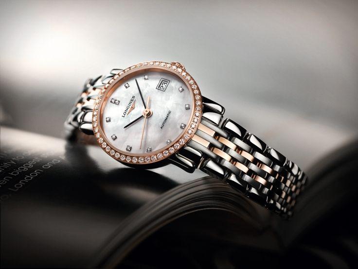 The Longines Elegant Collection L4.309.5.88.7 #Longines #ElegantCollection #MotherOfPearl