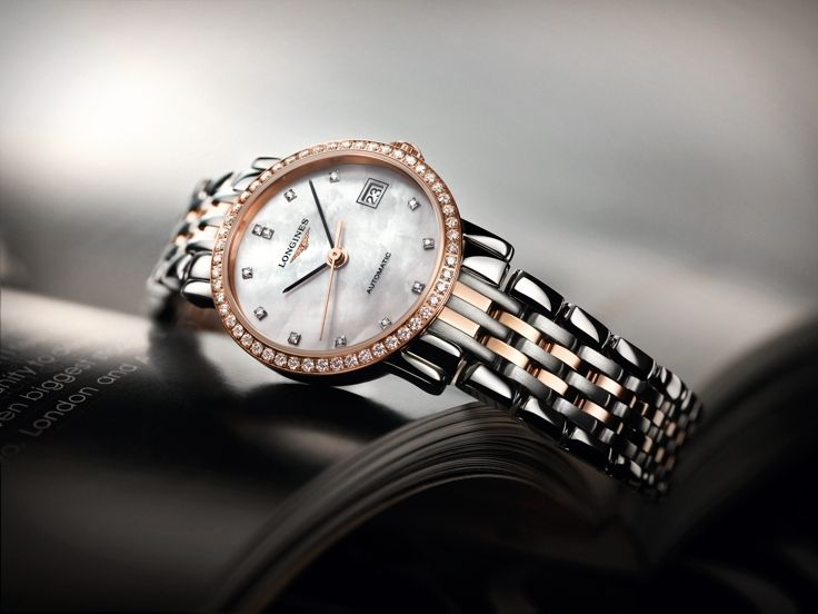 The Longines Elegant Collection L4.309.5.88.7 #Longines #ElegantCollection #MotherOfPearl