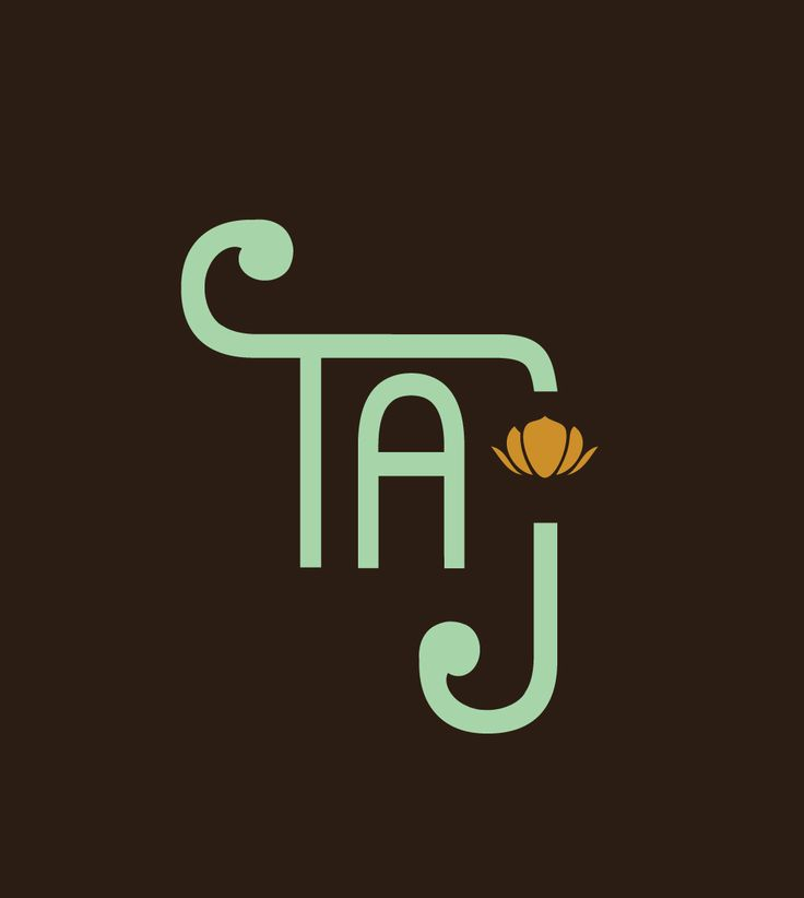 Taj restaurant - Hand Made Font