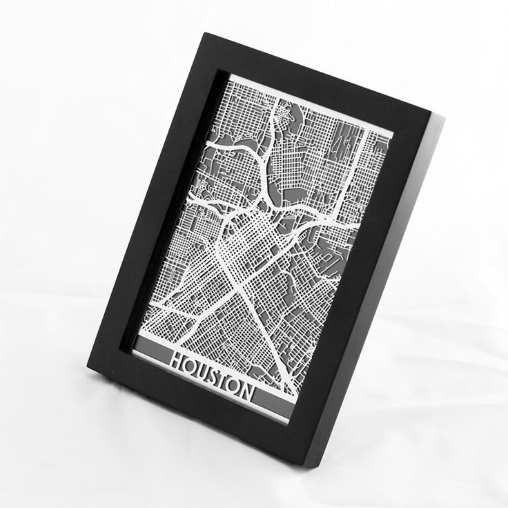 Houston Area Map Cities%0A Stainless Steel map of Houston Texas comes framed and ready to display