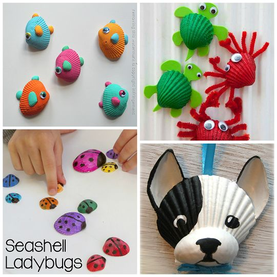 #20 Adorable New Seashell Craft Ideas for Kids !