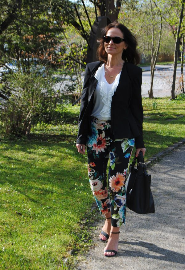 SPRING TREND 2014: BLOOMING TROUSERS | Lady of Style