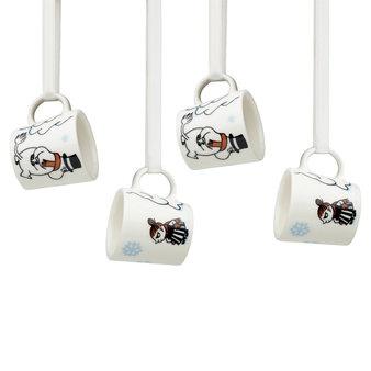 minisized Moomin-mugs for the christmas tree