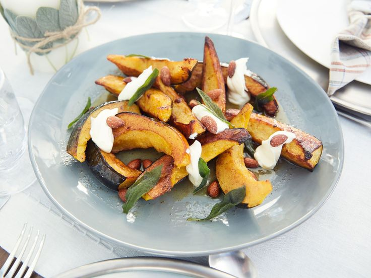 Roasted Acorn Squash Agrodolce recipe from Giada De Laurentiis via Food Network