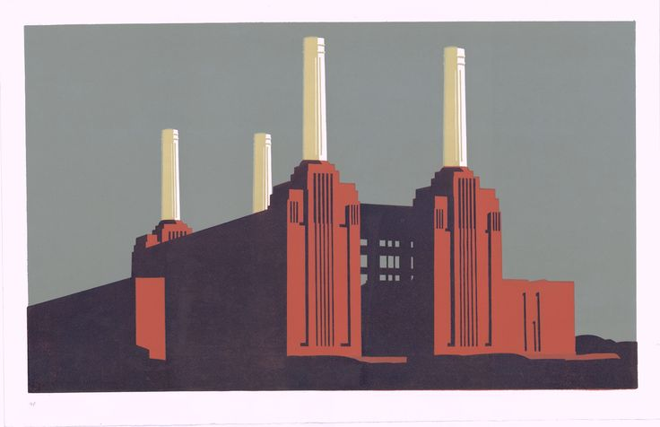Paul Catherall | Battersea Landscape