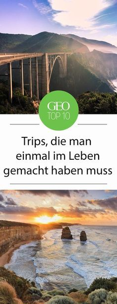Es gibt Reiseerlebnisse, die sind so schön, dass man Sie einfach jedem empfehlen möchte. Zehn solcher unvergesslichen Trips möchten wir Ihnen mit dieser Top-Ten ans Herz legen und wünschen eine gute Reise!