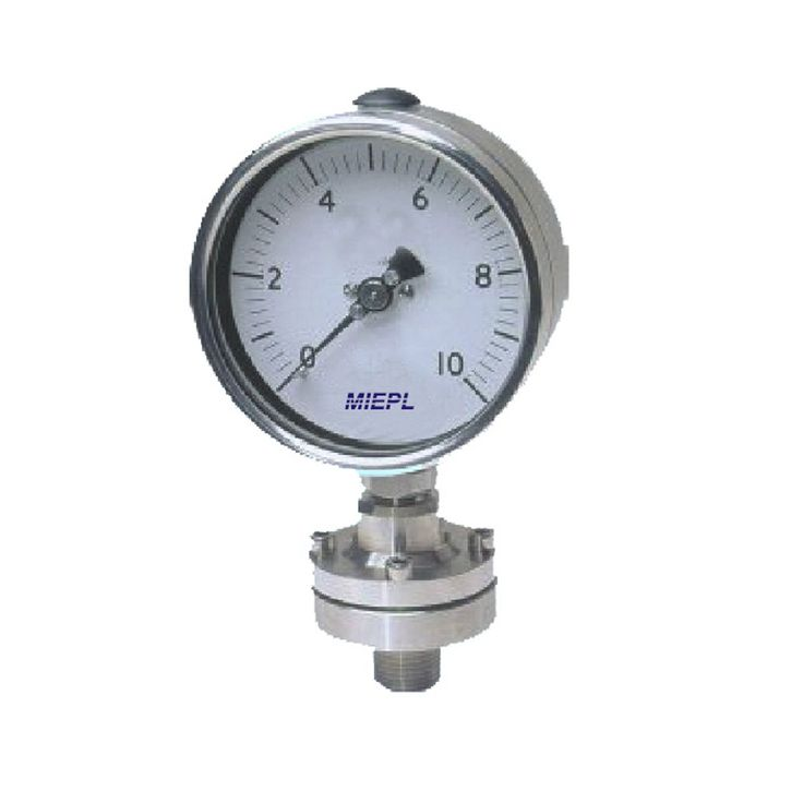 MIEPL make Diaphragm Sealed Pressure Gauges are the criterion of accuracy and leadership in the field.