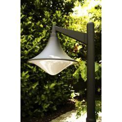 Trio LOIRE Lampada da terra per esterno LED Grigio, 1-Luce