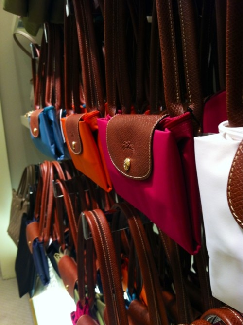 Longchamp. I want one in every color please..just nice light for travel and easy purse to pack