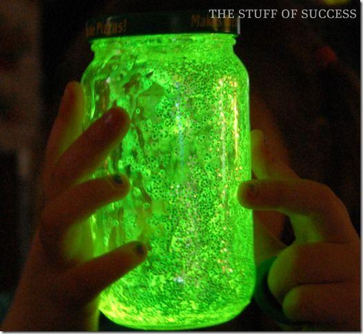 Glow Jar for camping