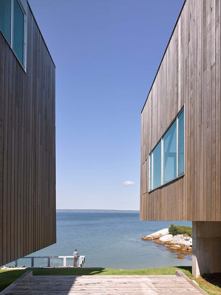 the two hulls house frames views of nova scotia's ...