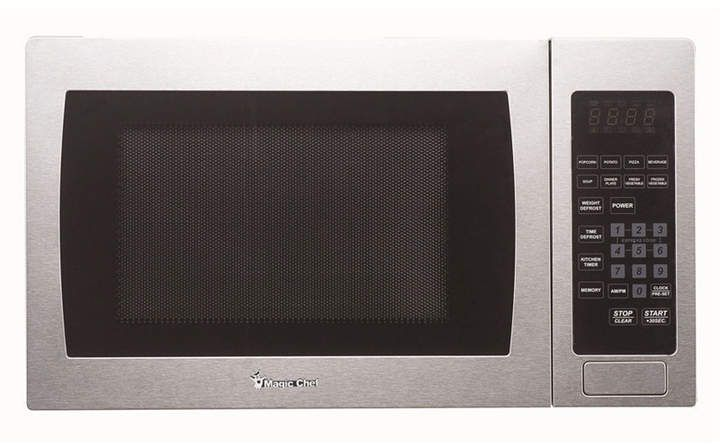 Magic Chef 0 9 Cubic Feet 900w Countertop Microwave Oven In 2020