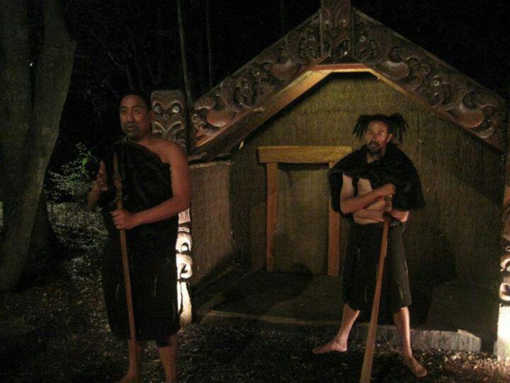 The Maori, Tamaki Maori village Rotorua, North Island NZ