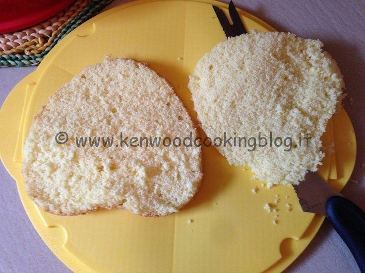 Pan di spagna metodo Montersino con Kenwood