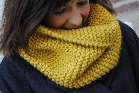 Comment tricoter écharpe ruban ?