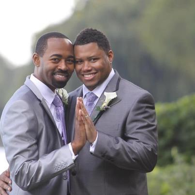Black Gay Wedding 40