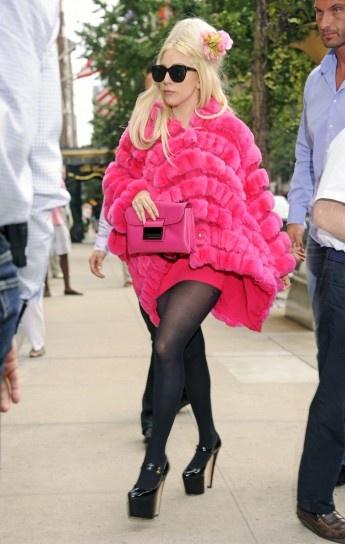 Look di Lady Gaga in Giorgio Armani