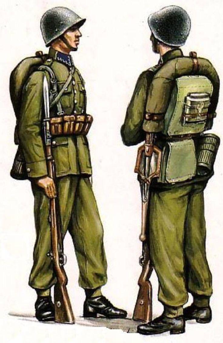 Polish soldier.