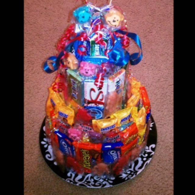 Creative Cake Ideas For Boyfriend : 17 Best images about Candy on Pinterest Man gift baskets ...