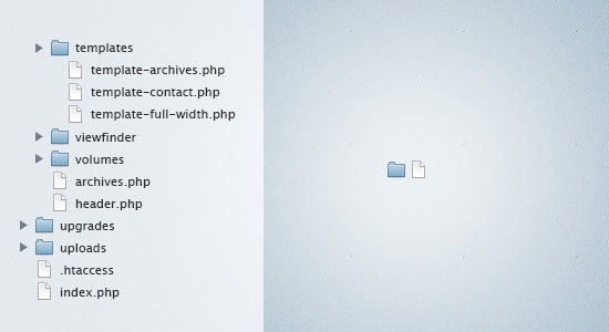 Couple of Mac OS style file and folder icons, FREE!