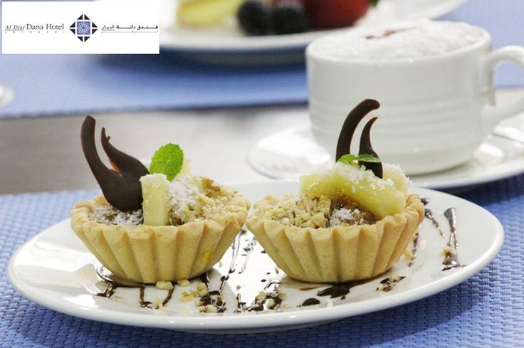 Give your sweet tooth a sweeter surprise with our 'Pastry of the Month' - Pineapple, Coconut & Pecan Nut Pie at Marigold Restaurant in Al Diar Dana Hotel! For reservation, call: +971 2 645 6000
