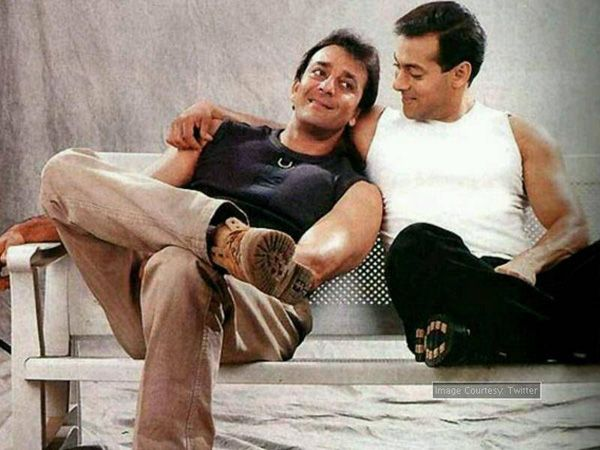 All Is Well! Sanjay Dutt wished Salman Khan exactly at 12 am on his birthday