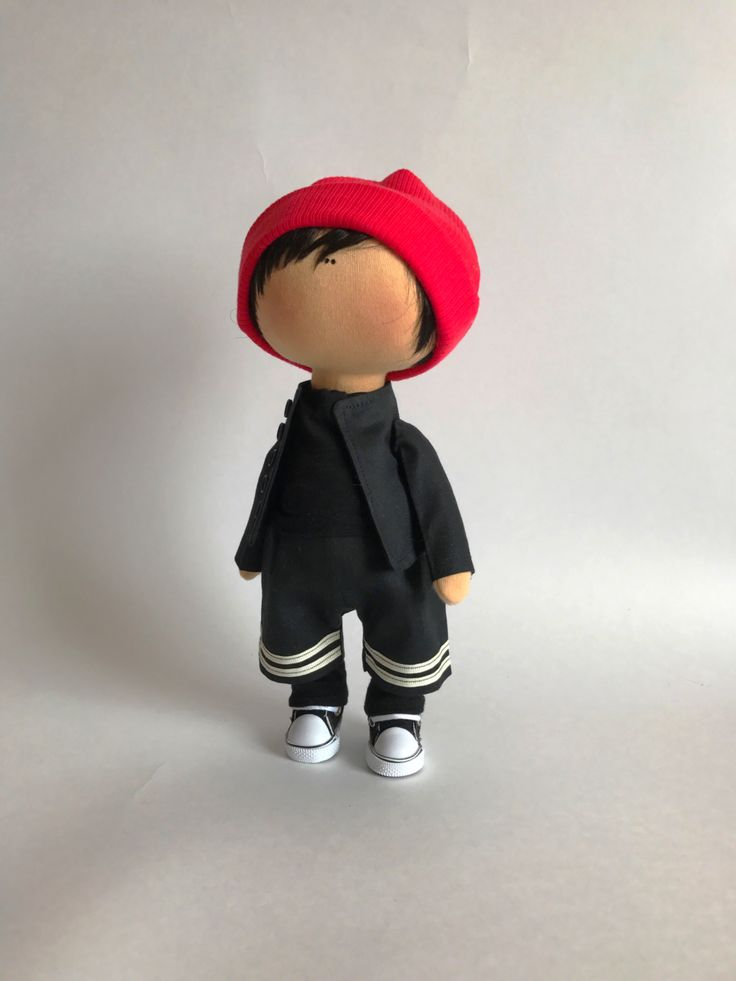 Portrait doll Tyler Joseph.  Портретная кукла - Тайлер Джозеф. Рост 28 см.