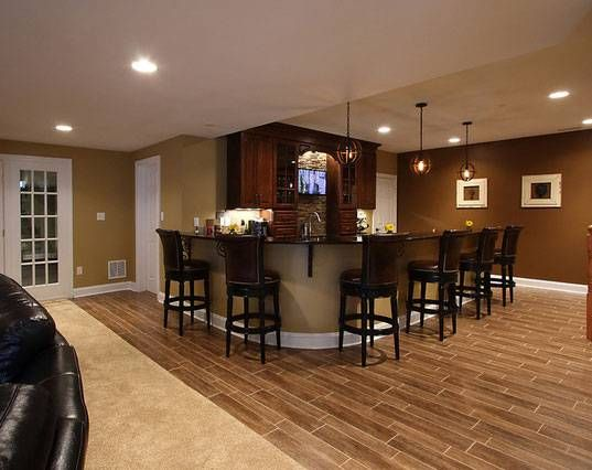99 best basement wet bar ideas images on pinterest bar for Finished basement designs